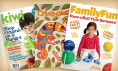 From $5 Magazine Subscriptions for Parents and Kids (Up to Half Off). Eight Options Available.