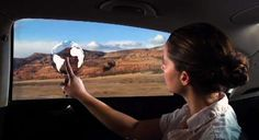 The Windows of Opportunity Project Strives to Entertain the Backseat #gadgets trendhunter.com