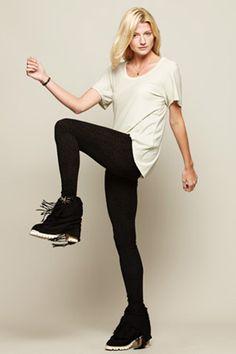 Eco-friendly fashion: Leggings 96% hemp