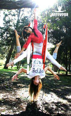 YOGA AEREO #aeroyoga#mexico #cursos #teachertraining #aerialyoga #acro #aerial #yogaaerien #stage #certificacion