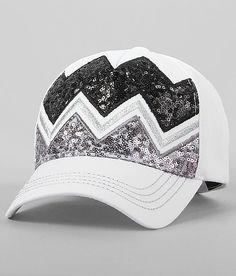 Chevron Sequin Hat