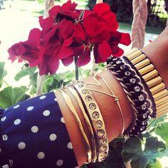 A whole lotta metal on the wrist today #diy #bracelets » @ispydiy » Instagram Profile » Followgram