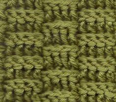 CROCHET BASKETWEAVE Crochet Geek - YouTube