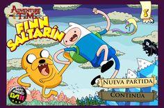 Una hora de aventura llega con este juego donde tienes que lanzar a Finn lo mas lejos posible