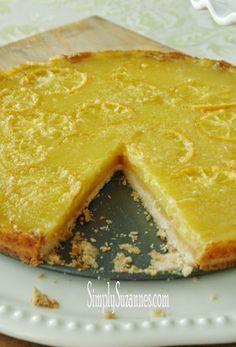 lemon honey tart 1-2