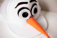 How to Make an Olaf the Snowman Halloween Costume #olaf #halloween #costumes @ltsOlaf