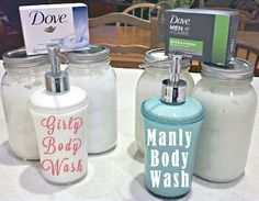 His and Hers (No-Grate) Homemade Body Wash | One Good Thing by Jillee
