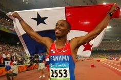 PANAMA   Irving Saladino: He is the current Olympic champion, and Panama's first and only Olympic gold medalist. Competes in Men's Athletics and will bear the Panama flag in the opening ceremony of the 2012 Summer Olympics -Source: Wikipedia