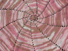 Pinwheel baby blanket for MJC.
