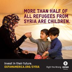 More than half of all refugees from #Syria are children.