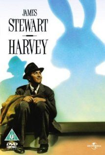 Harvey.  Possibly one of the best movies ever....Jimmy Stewart is perfectly cast.  A personal favorite.