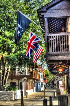 Downtown St Augustine, Florida
