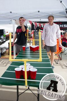 DIY Football Table Project from home depot