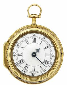 An 18th century English gold repeating pocket watch, by Joseph Williamson, circa 1770