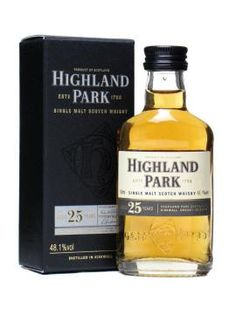Highland Park 25yr Single Malt Scotch