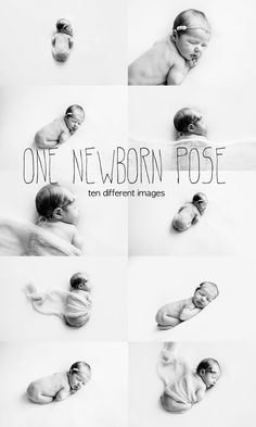 One Newborn Pose and