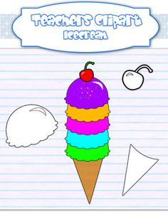 This set includes 8 different flavors to pile up or make your own custom ice creams. Line art draws included.:::FOR COMMERCIAL USE:::...