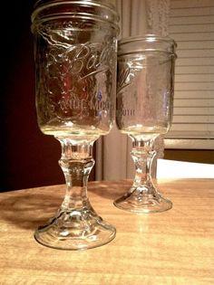 DIY Crafts: Hillbilly Crystal aka Redneck Wine Glasses   blueeyedpmoore