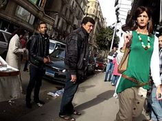 Egyptian Man Dresses Like a Woman, Gets Harassed Like a Woman   Waleed Hammad is taking a stand. The actor has used his position as an influential Egyptian male to bring attention to the dangers of sexual harassment and violence against women. Hammad reported that, as a man it is very easy for him to go about and do as he pleases, but after this project he realized the stark difference between the experiences of men and women in Egyptian society. (click for video)