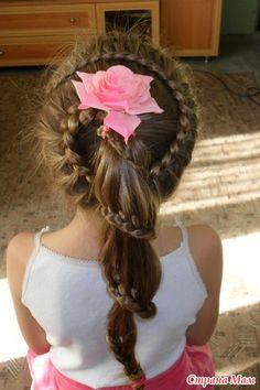 french braids, girl hair, hair braid, hairdo for girls, lace braid, hairdos for girls, hairstyl, braid ponytail, hair style