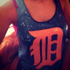 Victoria's Secret Detroit Tigers tank :)