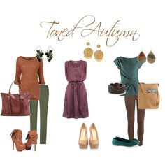 """Toned Autumn looks"" by sabira-amira on Polyvore"