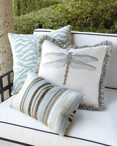 Love the zebra print pillow in #mint http://rstyle.me/n/gbgsznyg6