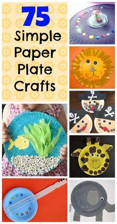75 paper plate craft