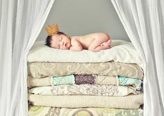 Oh my goodness. So many adorable newborn picture ideas. Possibly loving this shot the most... Sweet Miss Landry