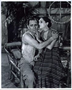 "Lon Chaney Sr & Lupe Velez, in ""Where East is East"" 1929"