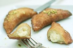 Qatayef, a Ramadan treat. I miss those!