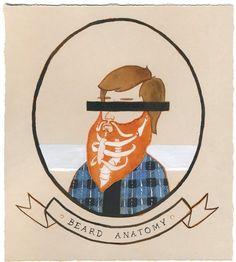 beard anatomy...hahaha love it!
