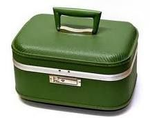 vintage train case. I still have one in blue. Indestructible!