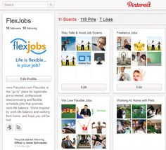 Use Pinterest for Job Search