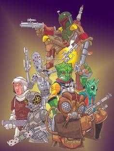 Star Wars Bounty Hunters