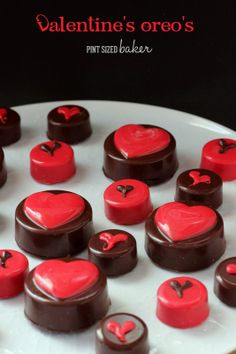 Chocolate Covered Oreos for Valentine's Day