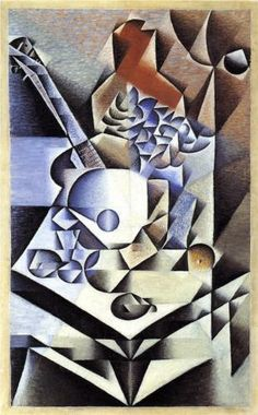 Juan Gris (1887 - 1927)   Analytical Cubism   Still Life with Flowers - 1912
