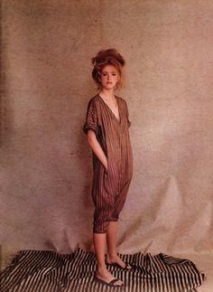 British Vogue- 1981                                   Stylist Grace Coddington              Photographer Barry Lategan