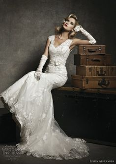 So gorgeous... Justin Alexander preview collection!