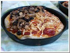 Vegan pizza inspiration for the masses. vegan pizza, pan pizza, pizza inspir