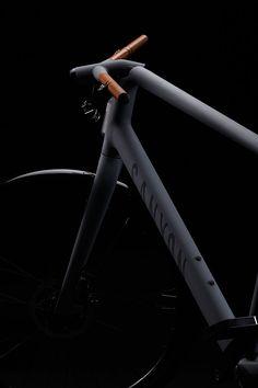 product, bicycle design, bike design, canyon urban, bicycl design, matte black, urban concept, bici, canyon bicycl