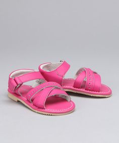 This Pink Saltwater Sandal  by L'Amour Shoes is perfect! #zulilyfinds