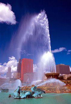 Buckingham Fountain, Chicago, USA