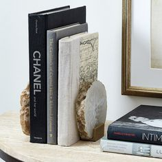 Agate Bookends - Set
