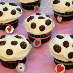 Top 45 Disney Cupcake Recipes Dalmatian Cupcakes