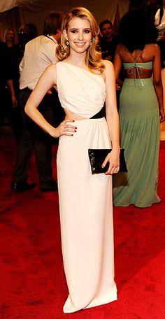 Emma Roberts in Michael Kors