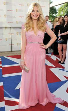 Holly Willoughby in Jenny Packham