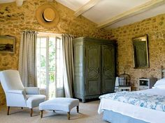 french country bedrooms | French Style Bedroom - MyHomeIdeas.com
