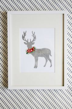 christmas art print | Jones Design Company