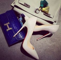 Hermes and Louboutins